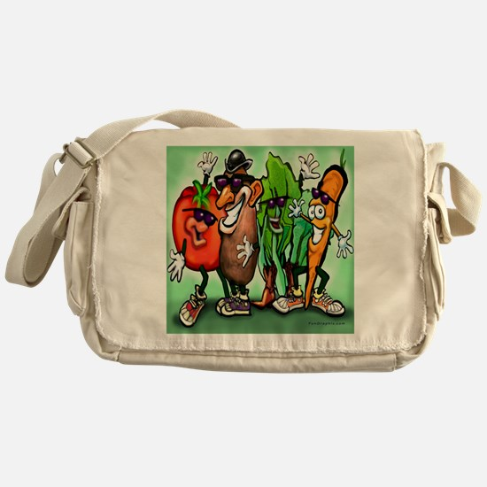 Veggie Gang SQ Messenger Bag