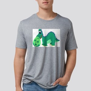 wmf_dinosaur050yy Mens Tri-blend T-Shirt