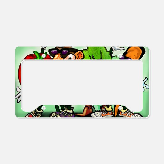 Veggie Gang Card License Plate Holder