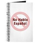No Hablo Espanol_RC Journal