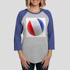 France world cup ball Womens Baseball Tee