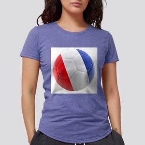 France world cup ball Womens Tri-blend T-Shirt
