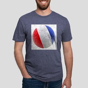 France world cup ball Mens Tri-blend T-Shirt