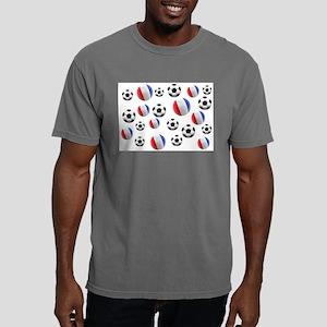 France Soccer Balls Mens Comfort Colors Shirt
