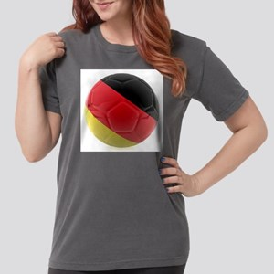 Germany world cup ball Womens Comfort Colors Shirt