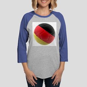 Germany world cup ball Womens Baseball Tee