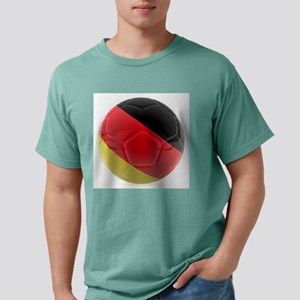 Germany world cup ball Mens Comfort Colors Shirt