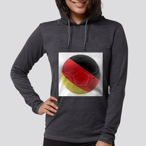 Germany world cup ball Womens Hooded Shirt