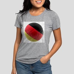 Germany world cup ball Womens Tri-blend T-Shirt