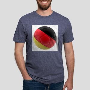 Germany world cup ball Mens Tri-blend T-Shirt