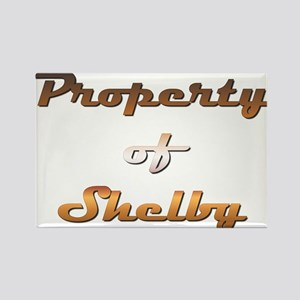 Property Of Shelby Male Magnets