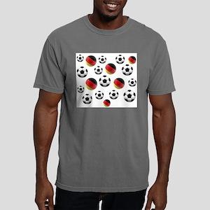 Germany Soccer Balls Mens Comfort Colors Shirt
