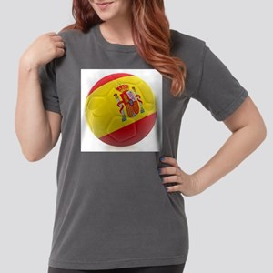 Spain world cup soccer ball Womens Comfort Colors