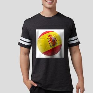 Spain world cup soccer ball Mens Football Shirt