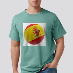 Spain world cup soccer ball Mens Comfort Colors Sh