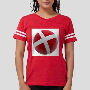 Denmark world cup ball Womens Football Shirt