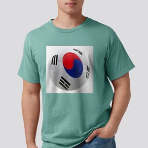 South Korea world cup Ball Mens Comfort Colors Shi