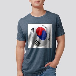South Korea world cup Ball Mens Tri-blend T-Shirt