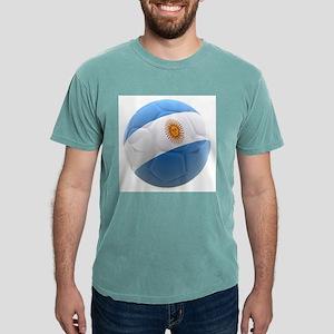 Argentina world cup Ball Mens Comfort Colors Shirt
