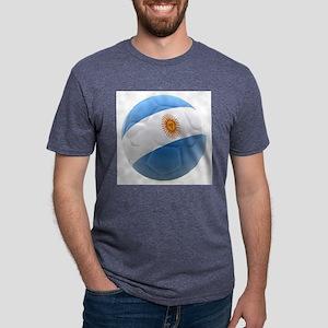 Argentina world cup Ball Mens Tri-blend T-Shirt