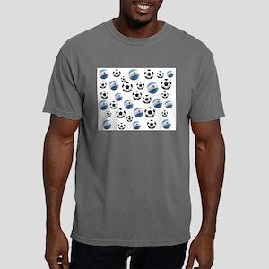 Argentina Soccer Balls Mens Comfort Colors Shirt