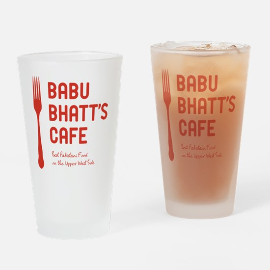 babuBhatt_tshirt_light Drinking Glass