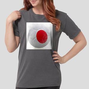 Japan World Cup Ball Womens Comfort Colors Shirt