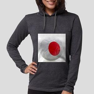 Japan World Cup Ball Womens Hooded Shirt