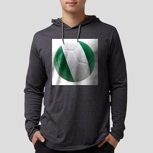 Nigeria World Cup Ball Mens Hooded Shirt