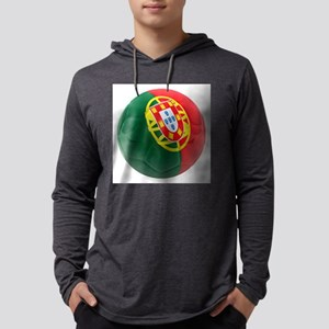Portugal World Cup Ball Mens Hooded Shirt