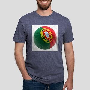 Portugal World Cup Ball Mens Tri-blend T-Shirt
