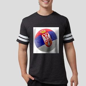 Serbia World Cup Ball Mens Football Shirt
