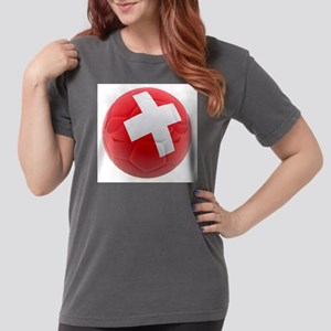 Switzerland World Cup Ball Womens Comfort Colors S