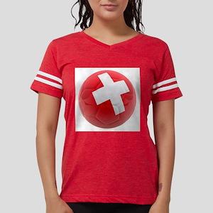 Switzerland World Cup Ball Womens Football Shirt
