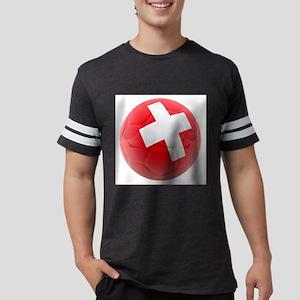 Switzerland World Cup Ball Mens Football Shirt