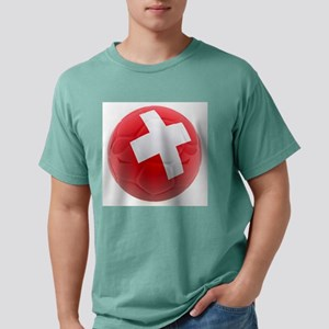 Switzerland World Cup Ball Mens Comfort Colors Shi