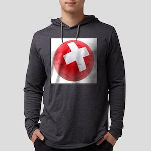 Switzerland World Cup Ball Mens Hooded Shirt
