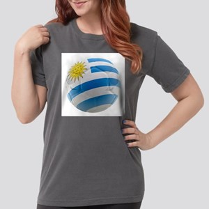 Uruguay World Cup Ball Womens Comfort Colors Shirt