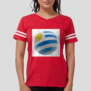 Uruguay World Cup Ball Womens Football Shirt