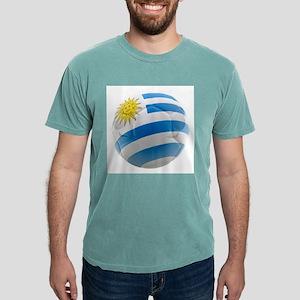 Uruguay World Cup Ball Mens Comfort Colors Shirt