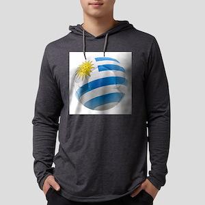 Uruguay World Cup Ball Mens Hooded Shirt