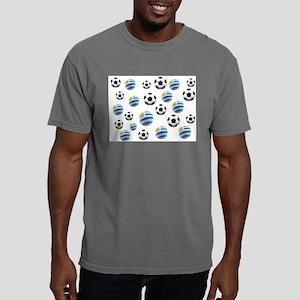 Uruguay Soccer Balls Mens Comfort Colors Shirt