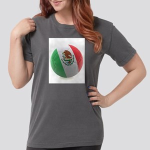 Mexico World Cup Ball Womens Comfort Colors Shirt