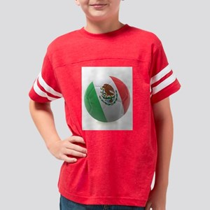 Mexico World Cup Ball Youth Football Shirt
