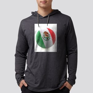 Mexico World Cup Ball Mens Hooded Shirt