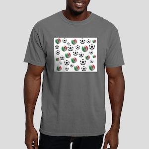 Mexico Soccer Balls Mens Comfort Colors Shirt