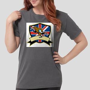 Rugby Kiwi Bird Britai Womens Comfort Colors Shirt