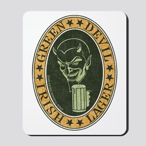 green-devil-ale-T Mousepad