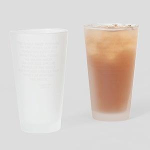 zinnW Drinking Glass