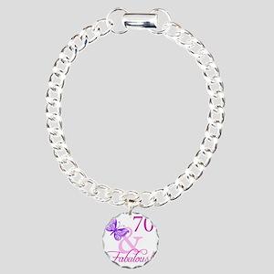 Fabulous_Plumb70 Charm Bracelet, One Charm